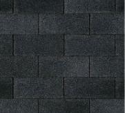 telhado shingle supreme preto, onyx ou black